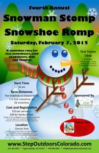 Fourth Annual Snowman Stomp Snowshoe Romp @ Cloman Park | Pagosa Springs | Colorado | United States