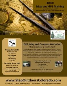 4CBCH - Map and GPS Workshop @  Bayfield Lion's Club | Bayfield | Colorado | United States