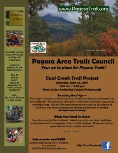 Trail Project - Coal Creek Trail @ Meet at the Archuleta County Fairgrounds